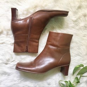 BP by Nordstrom Tan Leather Booties